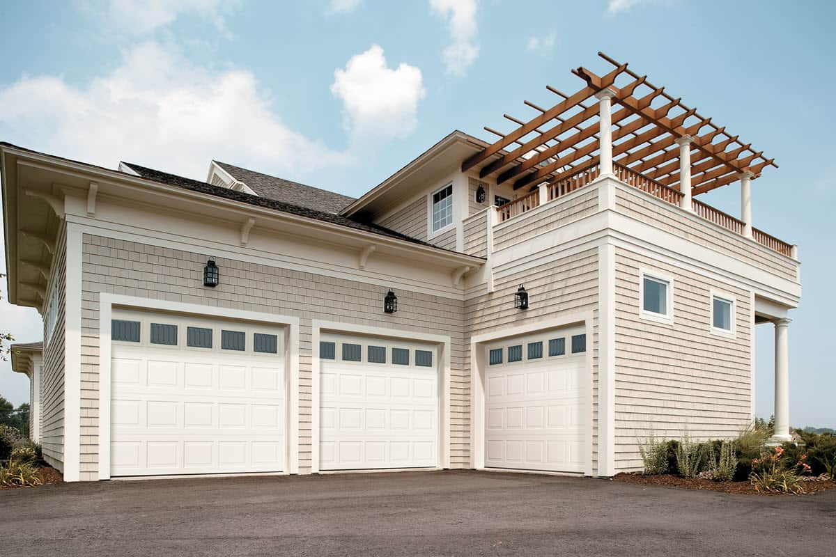 3 car insulated garage door