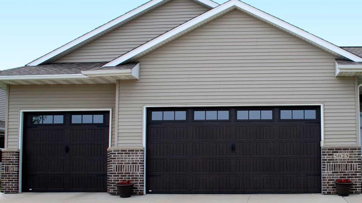 thermacore insulated garage door