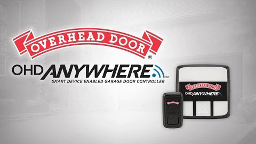 overhead door smart garage door opener