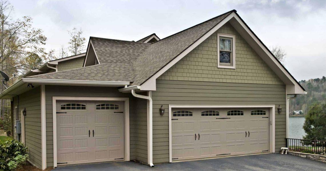 Garage-Doors-on-a-House