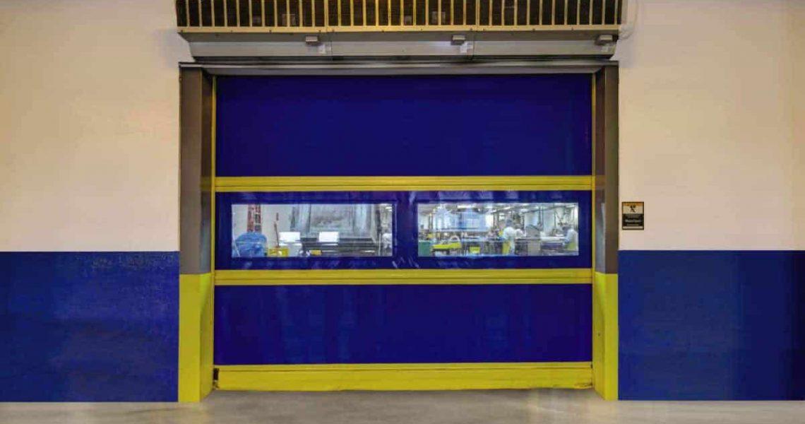 rapid flex commercial garage door