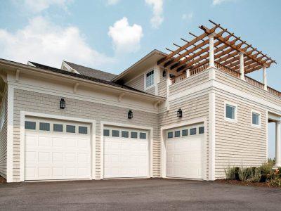 3 car insulated garage door