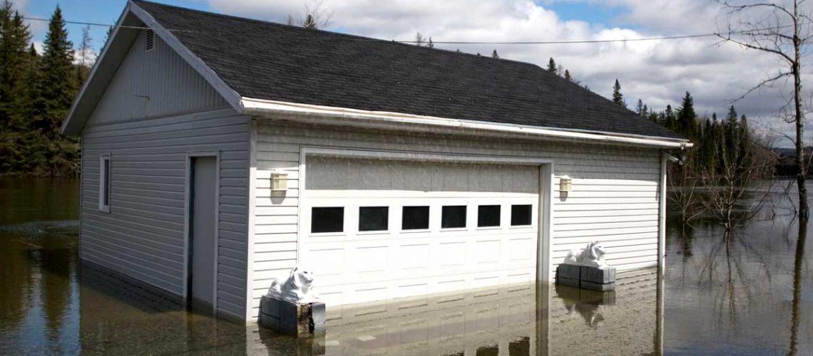 garage flooded under water