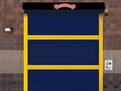 fabric commercial door