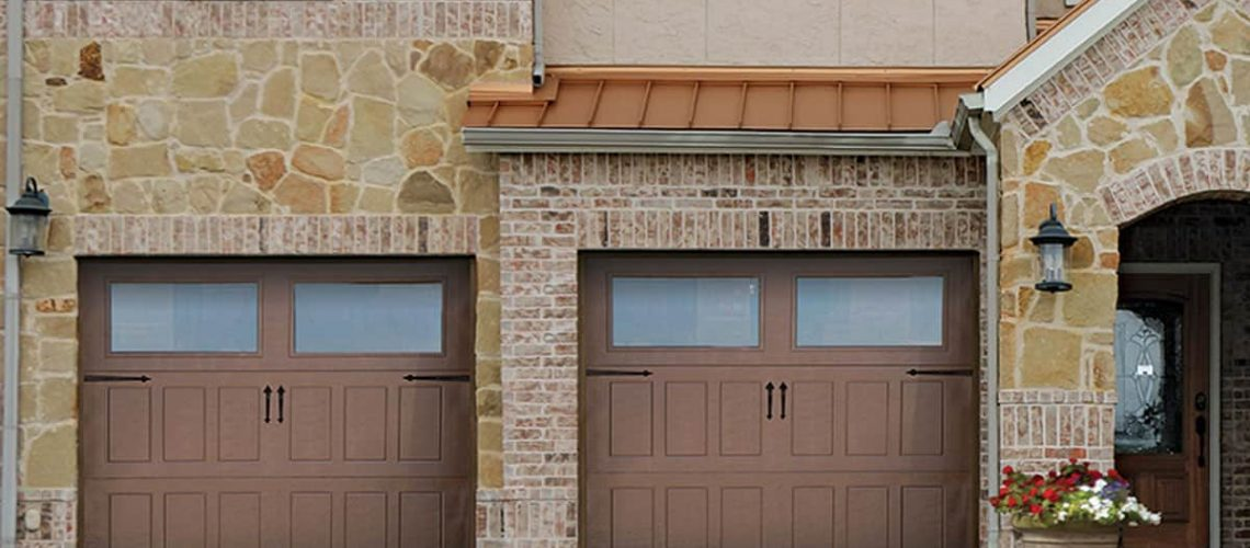 residential garage door impression-steel-collection-501