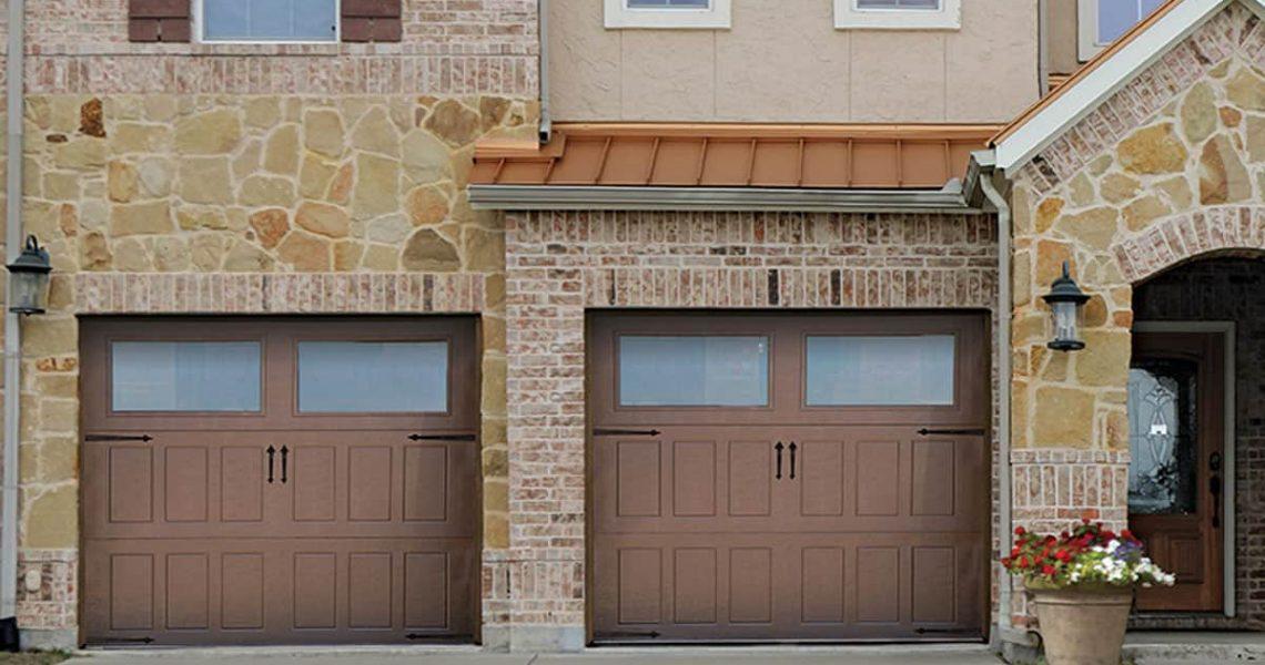 residential garage door impression-steel-collection-501