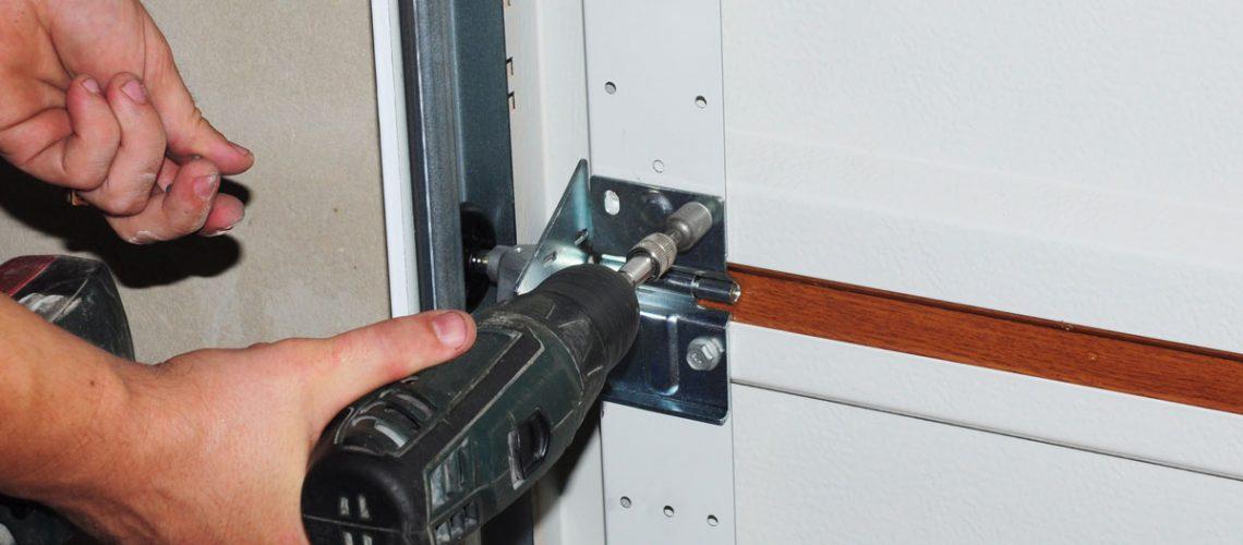 fix shaky garage door
