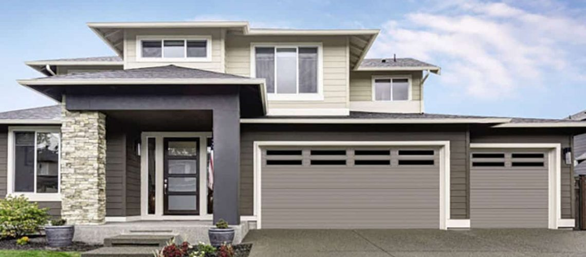 Overhead door thermacore garage door