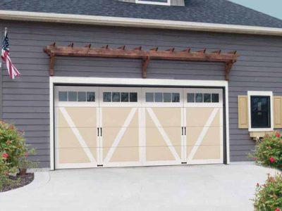 wind load hurricane rated garage door double car